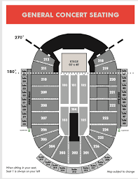 Resch Center Seating Chart With Seat Numbers Seating Maps Ticketstar