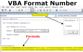 Vba Format Number How To Format Numbers With Vba Numberformat