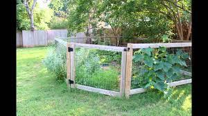 vegetable garden fence 2016