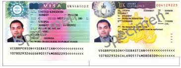 Vignettes And Right2rent Visa Uk - Stamps