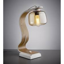 contemporary table lighting. CURVACEOUS TABLE LAMP IN WHITE Contemporary Table Lighting R