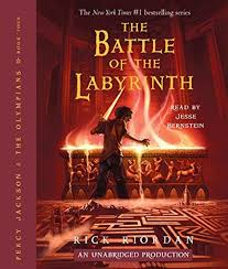 the battle of the labyrinth percy jackson book 4 cover art