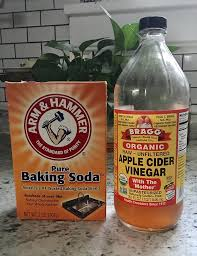 Recently a friend asked me how exactly I used baking soda and ACV to wash  and condition my hair, so I thought I'd share it here. Summer is the  perfect time ...
