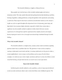 scientific method essay the scientific method descriptive essay sample academichelp net