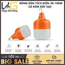 40w giá rẻ] bóng led bulb sạc tích điện kín nước siêu sáng - bóng đèn led  sạc tích điện 6-8h đầu cắm usb - bóng đèn led tích điện - bóng