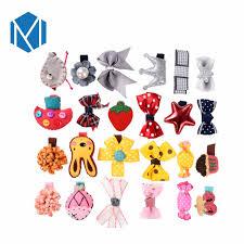 <b>M MISM 1</b> set=6pcs Cute Children Hairpins Ribbon Bow knot Bright ...
