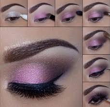 purple eye makeup tutorial brown eyes
