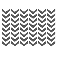 chevron stencils template small scale for crafting furniture diy wall decor 2