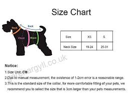 Puppy Collar Size Chart Newtensina Fashion 4 Pieces Dog Collar Set Cute Bling Bow