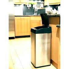 tall trash can. Tall Kitchen Trash Can Cans Small Size Of Black Garbage