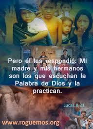 Lucas 8,19-21 - Mi madre y mis hermanos - Roguemos al Señor