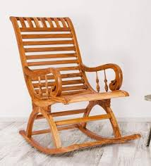 teak wood chairs. Fine Wood Teak Wood Rocking Chair In Light Finish By Karigar To Chairs E