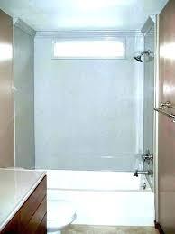subway tile tub surround subway tile tub surround panels weigh about per square foot shower wall subway tile tub surround