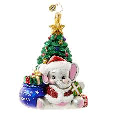 Christopher Radko Ornament 2016 | Radko A Trunk-ful Babys First ...