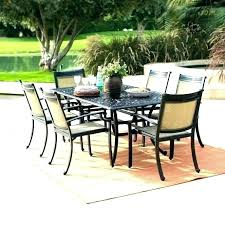8 person outdoor dining table round patio table for 6 8 person outdoor dining large size