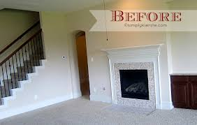 fireplace makeover airstone simplykierste com