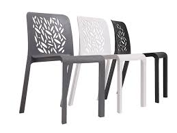 ultra modern plastic chairs and stylish furniture for small apartment interior practical and affordable contemporary