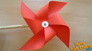 How To Macke How To Make A Pinwheel That Spins Diy