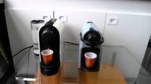 Nespresso U Machine Les Numcriques Nespresso Inissia Bruit Comparc U Milk Youtube