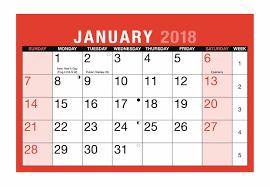 monthly desktop calendar with memo pad 2018