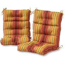 the three section high back chair cushion