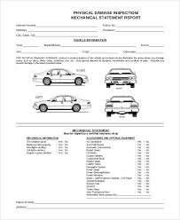 Free Printable Vehicle Inspection Form Image Result For Vehicle Damage Inspection Form Template Vehicle