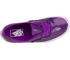 vans shoes black and purple. vans glitter dots authentic kids shoes (purple) black and purple