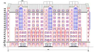 Дипломный проект ПГС Жилой ти этажный монолитный дом  Проектируемое