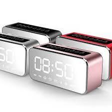 Taşınabilir Ayna Yüzey çalar Saat Kablosuz Bluetooth Hoparlör Mini Fm Radyo Müzik  Çalar Hoparlör Destek TF Kart Bu Kategori Alarm Saatleri -  Www2.expoworldwaterforum7.org