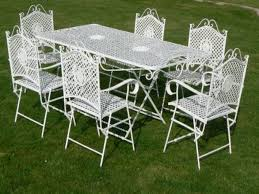 wrought iron patio table and 4 chairs. Alluring Chairs Vintage Wrought Iron Patio Swivel Furniture Cushions Artsmerized And Table 4
