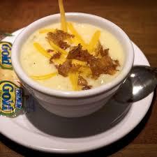 Potato Soup Cheddars Casual Cafe Restaurant Copycat Recipe