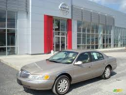 2001 Light Parchment Gold Metallic Lincoln Continental #18368555 ...