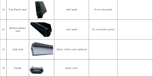 garage door bottom seal types amazing interior design 4