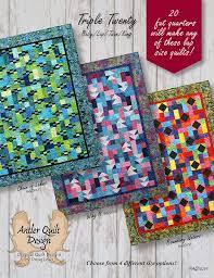 Triple Twenty Quilt Pattern - Antler Quilt Design &  Adamdwight.com