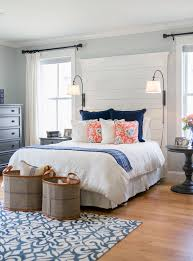 Bedroom Color Palettes Bedroom Beach Style With Blue Pillows Blue Pillows  Blue Pillows