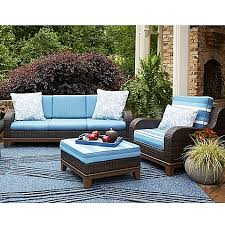 Scott Living™ Moorea Rattan Patio Furniture Collection Bed Bath