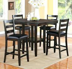 counter height dining sets 9 piece set with lazy room bench 5 round formal table d