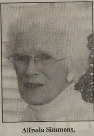 Alfreda Smith Simmons (1922-2007) - Find A Grave Memorial