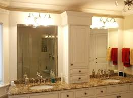 frameless bathroom vanity mirror. How To Install A Frameless Bathroom Mirror Double Vanity  Ideas With Bell Sconces .