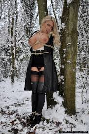 photo store Tied Up In Snow Bondage download