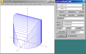 How To Make 3 D Object Using Integrals And Reference Equation Of