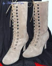 the 25 best victorian boots ideas on pinterest victorian shoes Victorian Wedding Boots For Sale sale victorian boots mushrooms color leather by victorianboots Victorian Ladies Boots