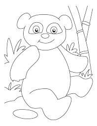 Small Picture Panda coloring pages for preschool ColoringStar