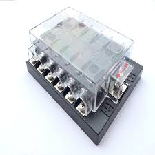 fuse holder from manufacturers factories whole rs universal12 way cars ships trucks circuit automotive middle sized blade fuse box block