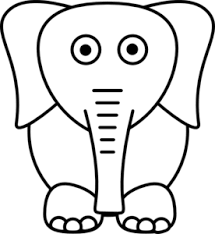 white elephant clip art png. Perfect Art White Elephant Clip Art On Png H