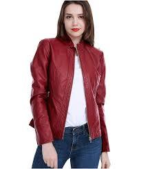 women pu leather jacket women pu leather jacket ll 01