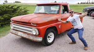 DO YOU WANT THIS TRUCK??? *1964 Chevy C10 stepside* - YouTube