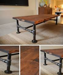 industrial diy furniture. DIY Industrial Coffee Table | Http://homestead-and-survival.com Diy Furniture A
