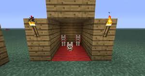 baby wolf minecraft. Wonderful Minecraft A Baby Wolf With Its Parents Inside Baby Wolf Minecraft
