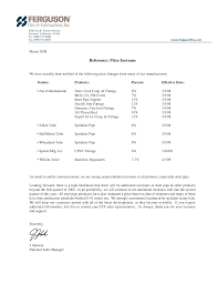 best photos of rate increase letter template rate increase sample price increase letter template
